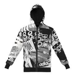 Adidas 3Foil Hooded Fz Felpa