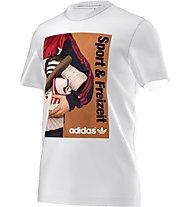 Adidas Originals 70S Catalog Tee Herren T-Shirt Fitness Kurzarm, White