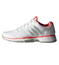 Adidas Barricade Team 4, Ftwr White/Silver Met./Flash Red