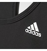 Adidas Clima 3S Ess Tank Top donna, Black/White