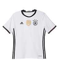 Adidas Maglia calcio Home Nazionale Germania Replica bambino EURO 2016, White/Black