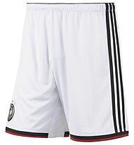 Adidas Deutschland Heimshorts, White/Black/Victory Red/M.Silver