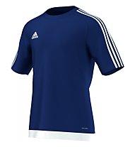 Adidas Estro 15 Jersey Shirt, Dark Blue/White
