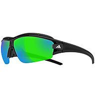 Adidas Evil Eye Halfrim Pro - Sportbrille, Black Shiny/Black