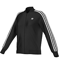 Adidas Originals Fake Leather Jacket Damen, Black