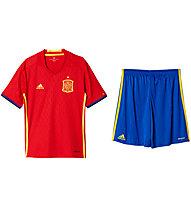 Adidas Set maglia + pantalone corto calcio Nazionale Spagna EURO 2016 Home Replica