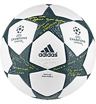 Adidas Finale 16 Official UEFA Champions League - Fußball, White/Grey