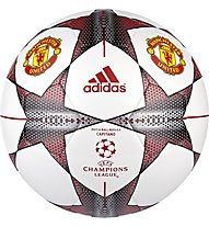 Adidas Finale 15 Manchester United Capitano Ball, White/Red/Grey