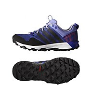 Adidas Kanadia 7 Trail Schuh Damen, Night F./C.Black/L.F.Purple