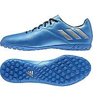 Adidas Messi 16.4 TF - scarpe da calcio per terreni duri, Blue