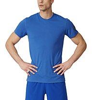 Adidas Prima Dry Dye T-Shirt fitness, Light Blue