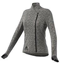 Adidas Sequencials CH Wrap W modische Laufjacke für Damen, Grey