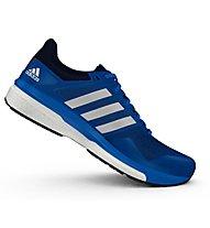 Adidas Supernova Glide 8 scarpa running, Blue/White