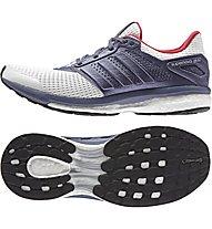 Adidas Supernova Glide 8 - scarpa running donna, Grey/White
