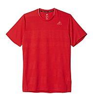 Adidas Supernova SS Tee - T-shirt running, Red