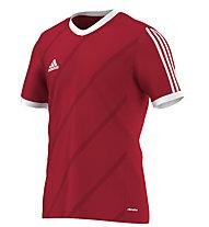 Adidas Tabe 14 T-Shirt calcio, Power Red/White