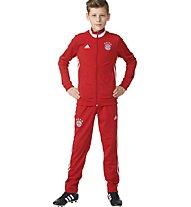 Adidas FC Bayern München - Trainingsanzug Jungen, True Red/White