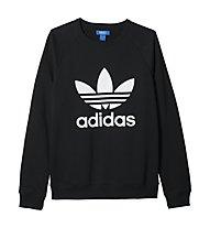 Adidas Originals Trefoil Crew - felpa, Black