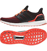 Adidas Ultra Boost - scarpa running, Black/Red