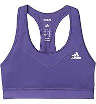 Adidas Workout Techfit Bra Reggiseno Sportivo, Violett