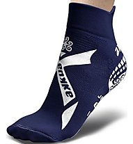 Akkua calza kids pisc. t-mix Kurze Socken Schwimmen Kinder, Blue/White