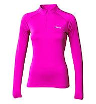 Asics Essential Winter 1/2 Zip W, Pink Glow