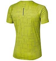 Asics FuzeX Printed Tee - maglia running, Yellow