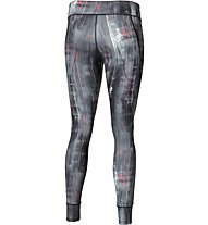 Asics Graphic Tight 28In Damen Fitnesshose, Grey
