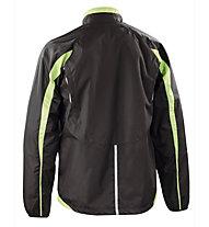 Asics Windbreaker Colin Runningjacke, Black/Light Green