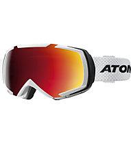 Atomic Revel Racing - Skibrille, White/Black