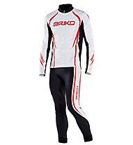 Briko Evo Race Set Italia Completo sci di fondo, White/Black/Red