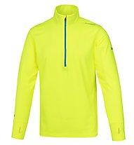 Brooks Dash 1/2 Zip Laufshirt Langarm Herren, Yellow