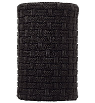 Buff Knitted & Polar Fleece Neckwarmer Airon, Black