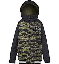 Burton Boys Game Day giacca snowboard bambino, Beast Camo/True Black