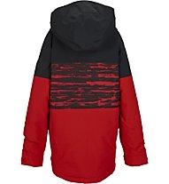 Burton Boys' Symbol Jacke, Burner Sloppy Stripe Block