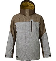 Burton Encore Jacket, Mocha Menswear Block