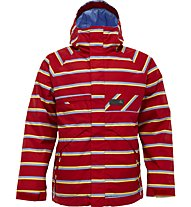 Burton Poacher Jacket (11/12), Cardinal Marcos Stripe