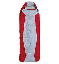 Camp Sint Cube 600 - Kunstfaserschlafsack, Grey/Red