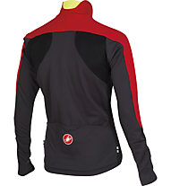 Castelli Passo Giau Jacket Giacca ciclismo, Red/Black