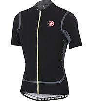 Castelli Raffica Jersey FZ - maglia bici, Black/Turbulance