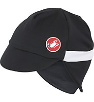 Castelli Risvolto Winter Cap, Black/White