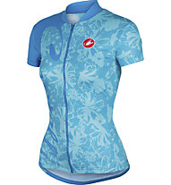 Castelli Sentimento Jersey FZ Damen-Radtrikot, Pastel Blue