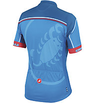 Castelli Velocissimo Giro Jersey FZ, Drive Blue/Blue/Red