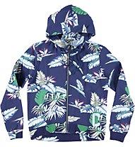 Converse Fleece Jacket CT Lady Hawaii, Blue Hawaii