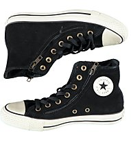 Converse Double ZIP Suede HI, Black