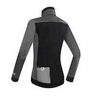 Dotout Race Wool W Jacket, Melange Dark Grey/Black