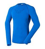 Dynafit Performance Dryarm M L/S Tee Maglia a maniche lunghe Scialpinismo, Blue