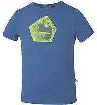 E9 Henry T-Shirt Kinder T-Shirt Klettern Bouldern, Blue