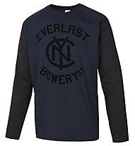 Everlast Mano Carbonio Langarmshirt, Blue