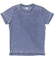 Everlast T-S M/C Scritte T-Shirt, Dark Blue
